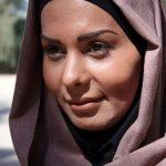بهار ارجمند و مادرش در حرم حضرت عبدالعظیم با چادر