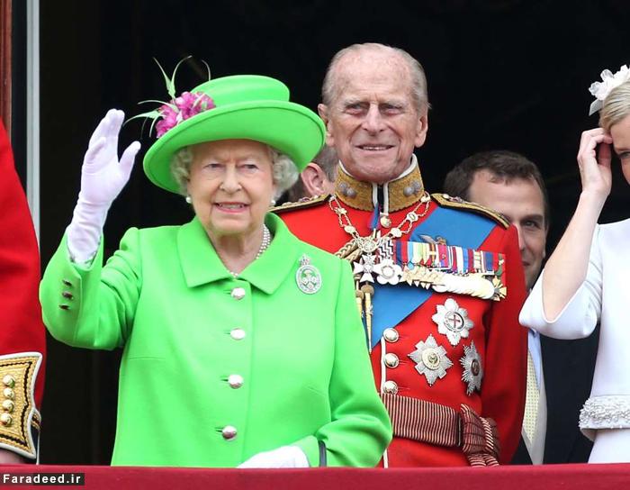 غش کردن ۵ سرباز انگلیسی در مراسم رژه جشن تولد ملکه