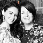 نازنین بنیادی ، بازیگر ایرانی الاصل هالیوود در کنار مادرش