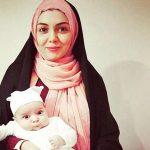 «آزاده نامداری» و اولین تابستان دخترش