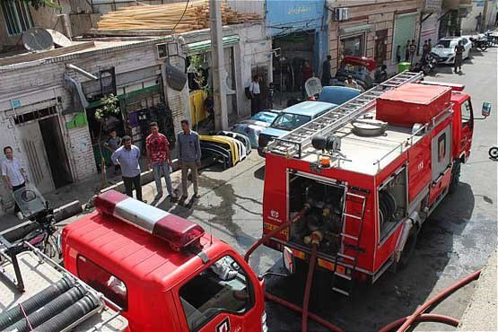 ماجرای آتش سوزی در میدان شوش چه بود؟