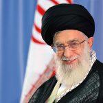 حضور رهبر معظم انقلاب بر سر مزار پدرشان در مشهد