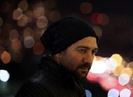 مجید صالحی به همراه دوقلوهایش آروین و حنا در گردش
