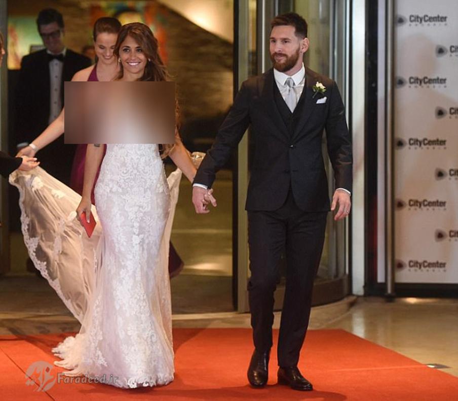 مراسم عروسی لیونل مسی