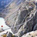 بلندترین و ترسناک ترین پل معلق کوهستان آلپ
