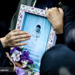 خدام حرم رضوی در تشییع جنازه بنیتا حضور یافتند