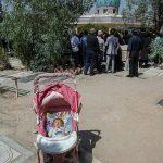 تصویر عجیب در خاکسپاری بنیتای 8 ماهه
