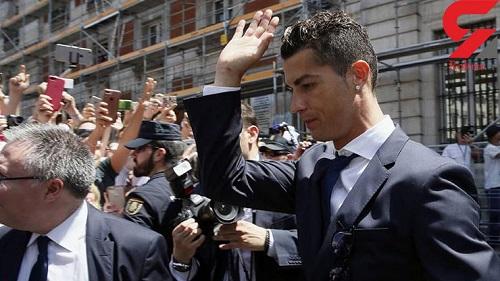 دادگاه بررسی فرار مالیاتی کریستیانو رونالدو در مادرید