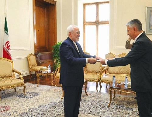 دیدار سفیر جدید صربستان با محمد جواد ظریف