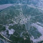 نمایی زیبا از اولین شهر دایرهای جهان در ایران
