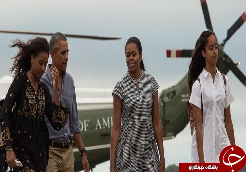 بازدید باراک اوباما از خانه دوران کودکیاش