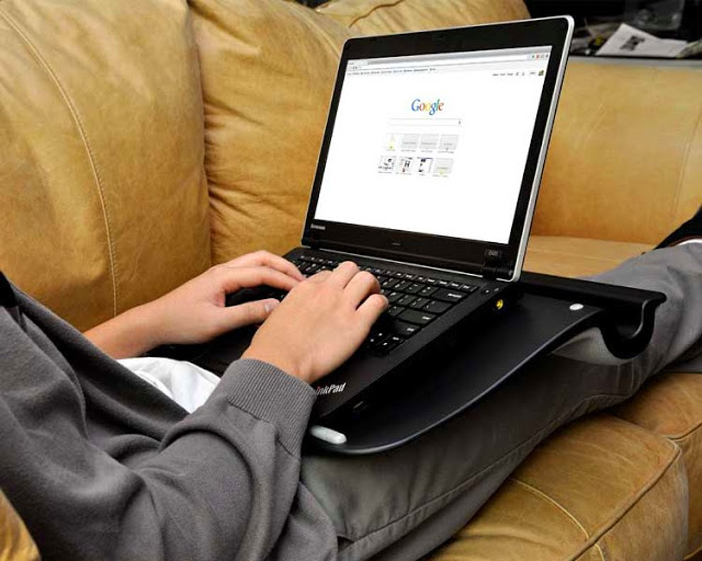 عکسی از تاثیرات گرمایی امواج لپ تاپ روی پاها