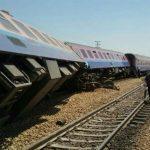 واژگونی قطار مسافری اهواز – مشهد حادثه ساز شد