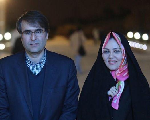 عکس یادگاری زن نوه امام خمینی(ره) در کنار سیروان خسروی