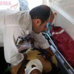 سقوط 2 کارگر جوان روی داربست ساختمانی