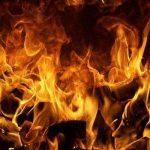 آتش سوزی در ایستگاه متروی مشهد
