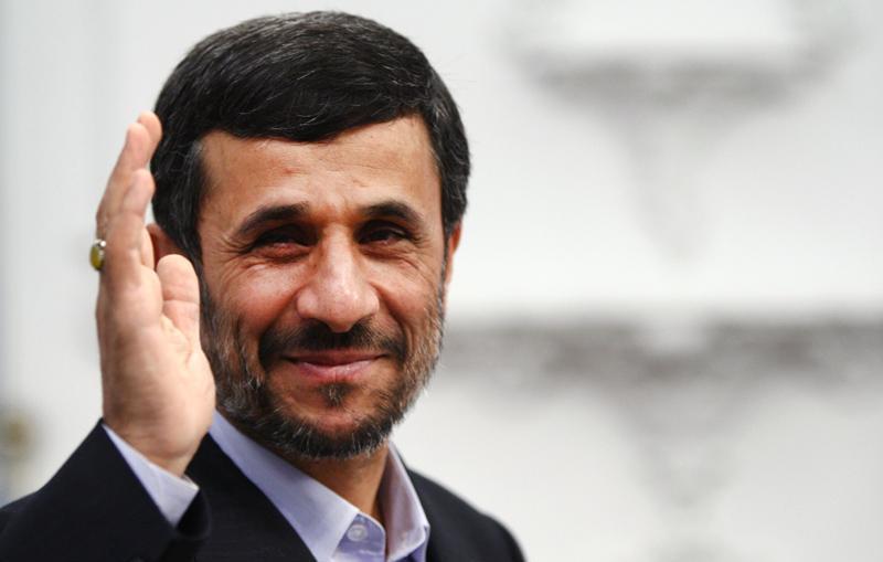احمدی نژاد و رئیسی در مراسم تنفیذ روحانی