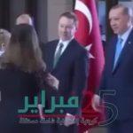اقدام سفیر ترکیه دراسترالیا در دیدار با اردوغان +فیلم
