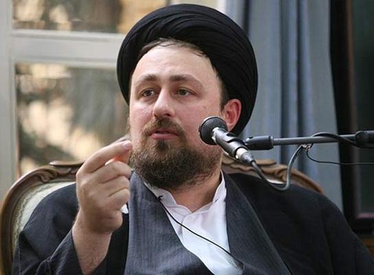 سید حسن خمینی در مراسم تنفیذ حسن روحانی