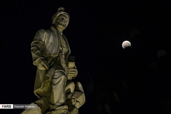 ماه گرفتگی در تهران