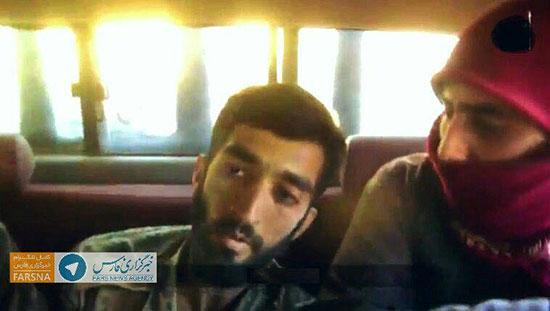 محسن حججی در خودروی تروریست ها