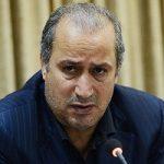 حضور مهدی تاج رئیس فدراسیون فوتبال ایران در عراق
