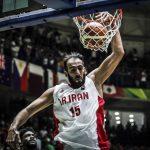 تاریخ سازی حامد حدادی ستاره بسکتبال ایران