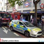 تصاویری از بسته شدن ایستگاه متروی لندن در پی یک هشدار