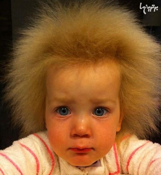دختری با موهای شانه نشدنی