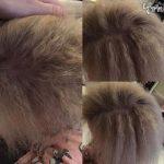 دختر بچه ۷ ساله زیبا با موهای شانه نشدنی