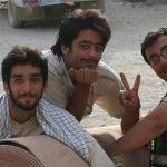 لحظه خداحافظی شهید محسن حججی با خانواده+فیلم