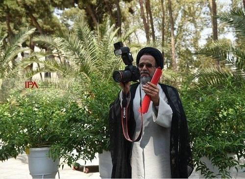 عکاسی وزیر اطلاعات از عکاسان