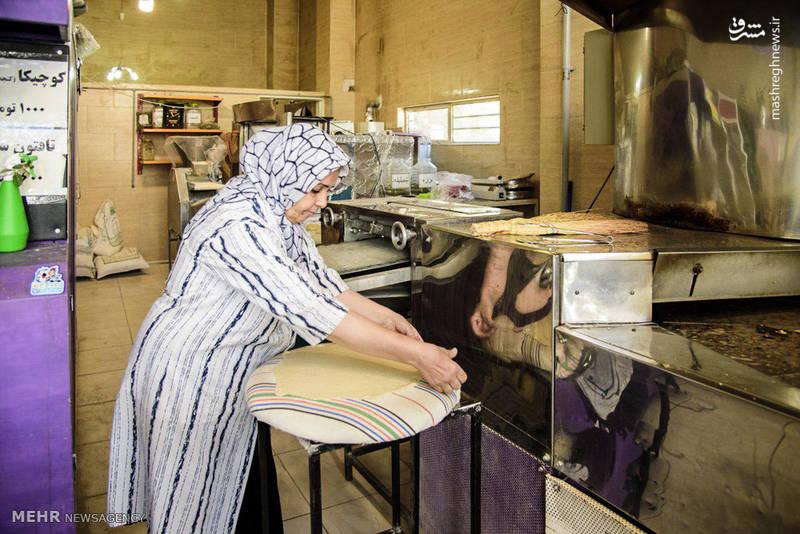 نانوایی زنانه