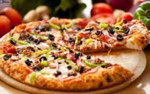 مرگ پیتزاها در تصادف جاده ای به روایت تصاویر