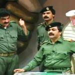 پیشگویی بازیگر معروف نقش صدام درباره مرگ خود