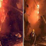 آتش سوزی مهیب در جده عربستان