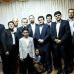 چه کسانی در مراسم دامادی پسر رئیس مجلس حضور داشتند؟