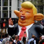 تظاهرات ضد ترامپ در مقابل برجش در نیویورک
