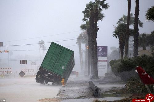 توفان سهمگین هاروی در ایالت تگزاس آمریکا