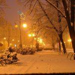 عکسی عجیب از برف تابستانی در استان اردبیل
