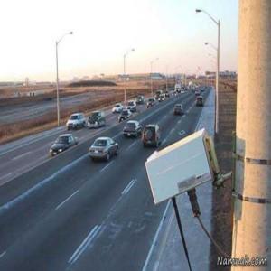 دوربین های پلیس در نیم متری رانندگان اتوبوس! (+فیلم)