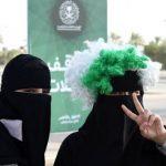 ورود زنان عربستانی به استادیوم برای نخستین بار