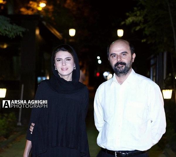 لیلا حاتمی و علی مصفا در یک مراسم