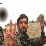 عکسی متفاوت از شهید حججی و فرزندش