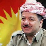 مسعود بارزانی پای صندوق رای همه پرسی استقلال کردستان
