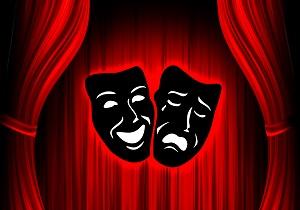 پوستر عجیب و خون آلود یک تئاتر!