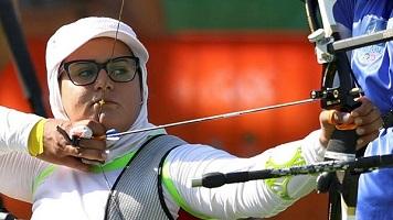 زهرا نعمتی بانوی کماندار تیم ملی قهرمان جهان شد