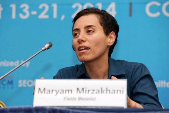 ستایش نشریه نیچر از مریممیرزاخانی
