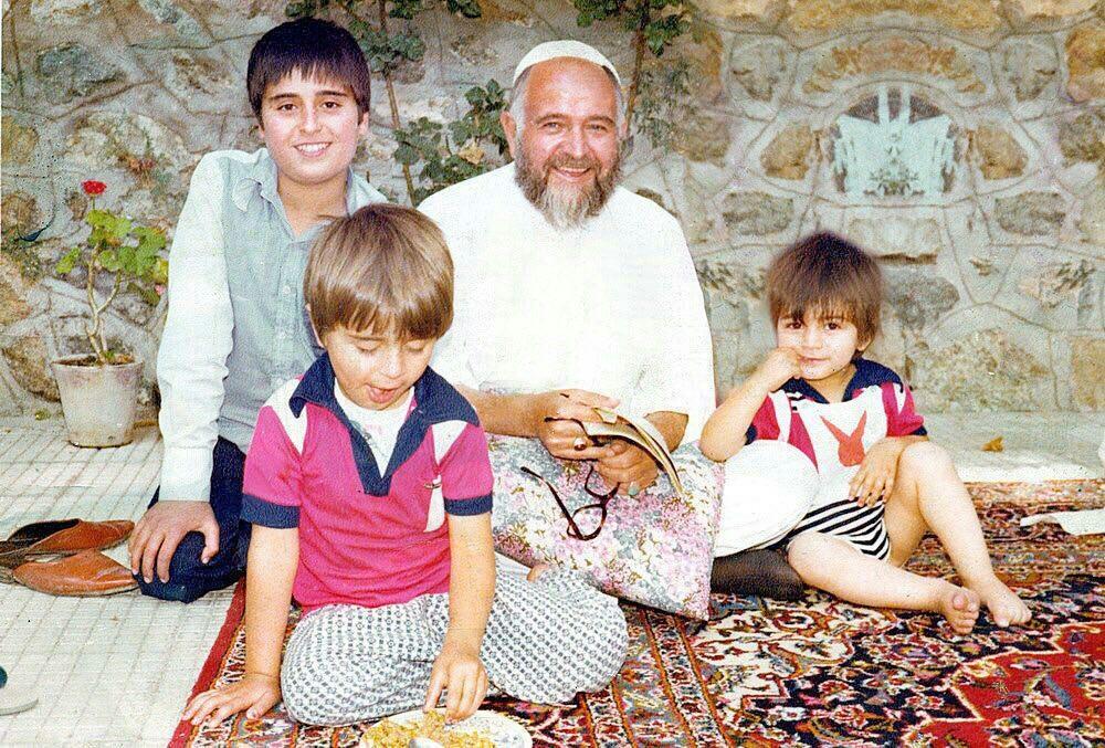 داماد و نوههای امام خمینی
