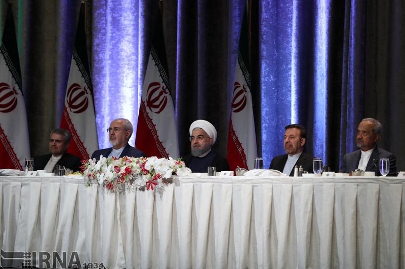 دیدار ایرانیان مقیم آمریکا با روحانی